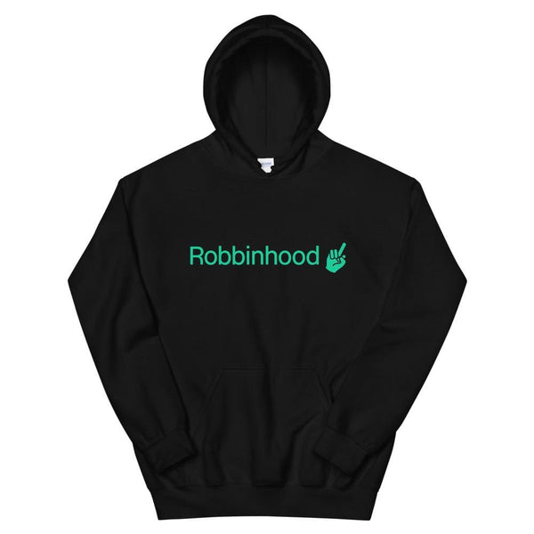 Alternative Hero - Robbinhood Basic Unisex Hoodie - Black /