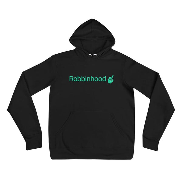 Alternative Hero - Robbinhood Unisex hoodie - Black / S