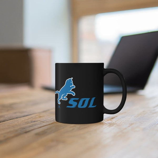 Alternative Hero - SOL Black mug 11oz - 11oz - Mug
