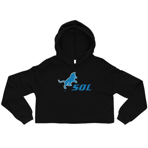 Alternative Hero - SOL Crop Hoodie - Black / S