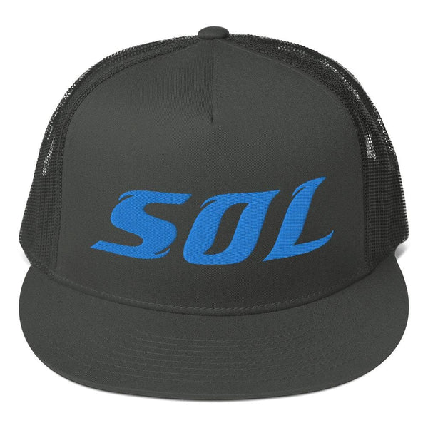 Alternative Hero - SOL Embroidered Mesh Trucker Cap -