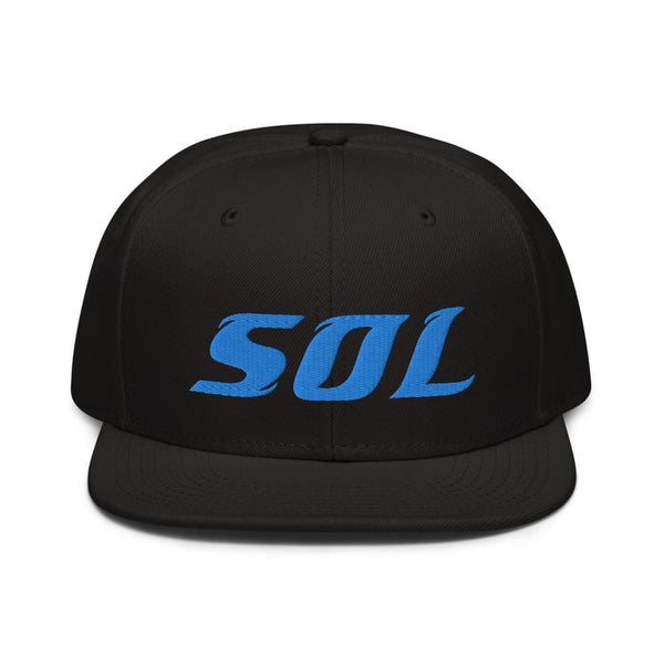 Alternative Hero - SOL Embroidered Snapback Hat - Black