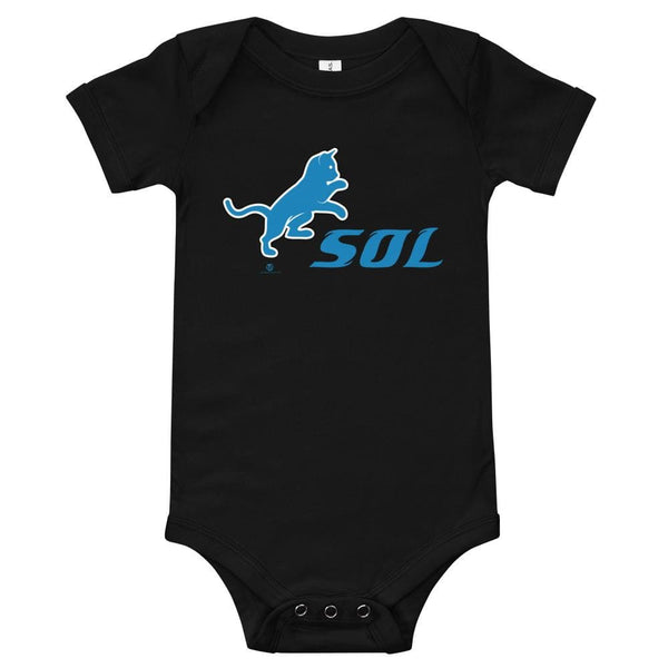 Alternative Hero - SOL Onesie - Black / 3-6m