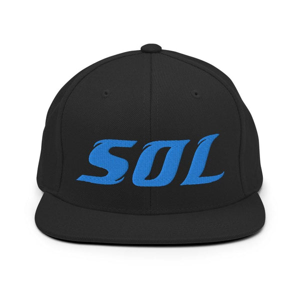 Alternative Hero - SOL Premium 3-D Logo Snapback Hat - Black
