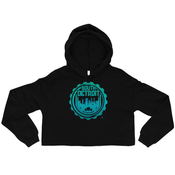 Alternative Hero - South Detroit Crop Hoodie - Black / S