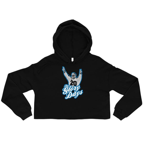Alternative Hero - The Glory Days Crop Hoodie - Black / S