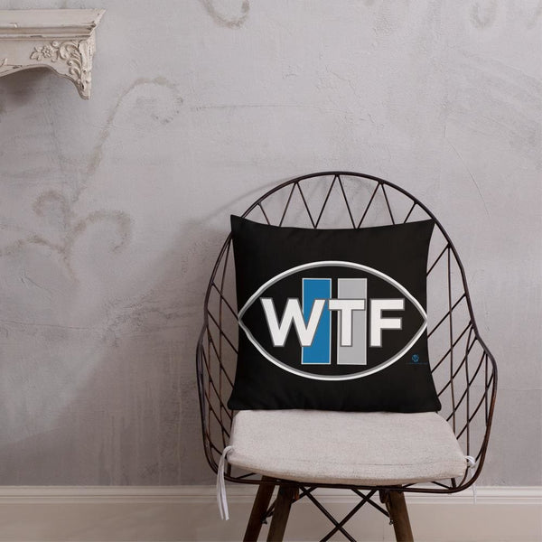 Alternative Hero - WTF Premium Pillow - 18×18