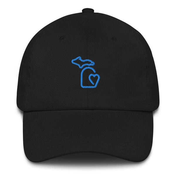 MI State - Michigan Dad hat - Black