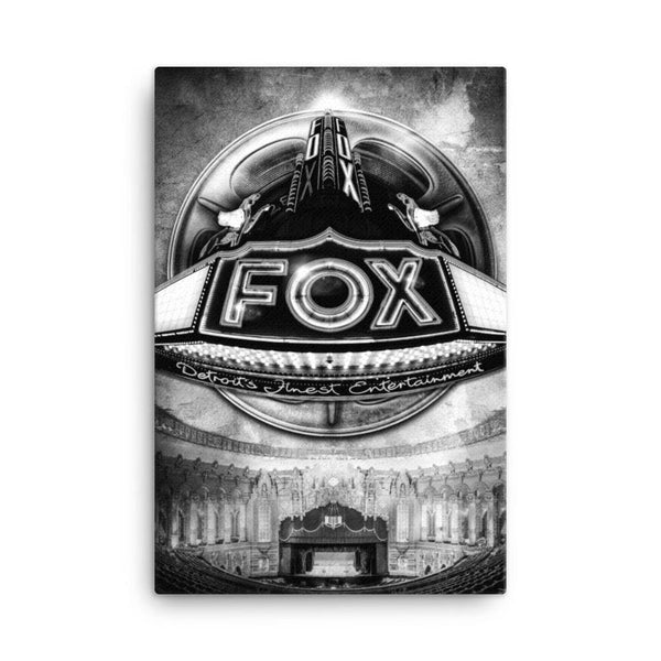 The Fox 24x36 Gallery Wrapped Canvas