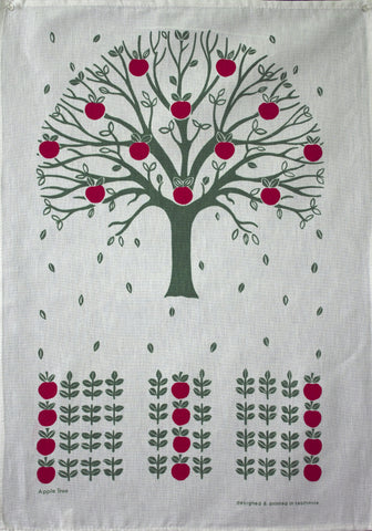 APPLE TREE - Delightful Durable CottonTea Towel