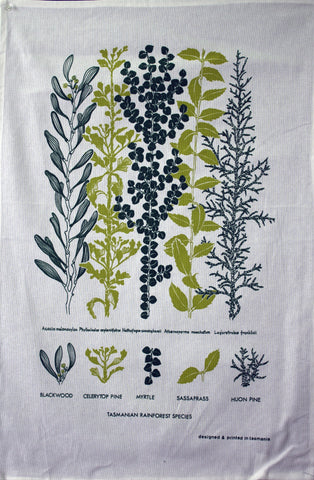 RAINFOREST - Delightful Durable Cotton Tea Towel
