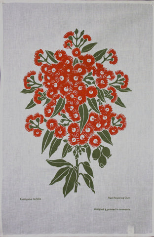 RED GUM - Delightful Durable Cotton Tea Towel