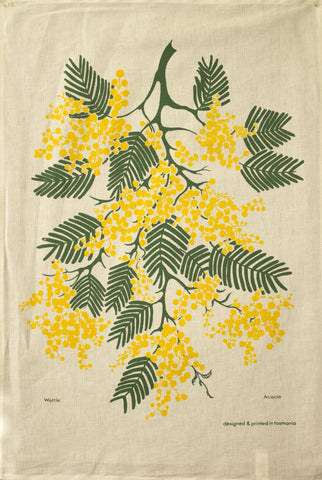 WATTLE - Delightful Durable Cotton Tea Towel