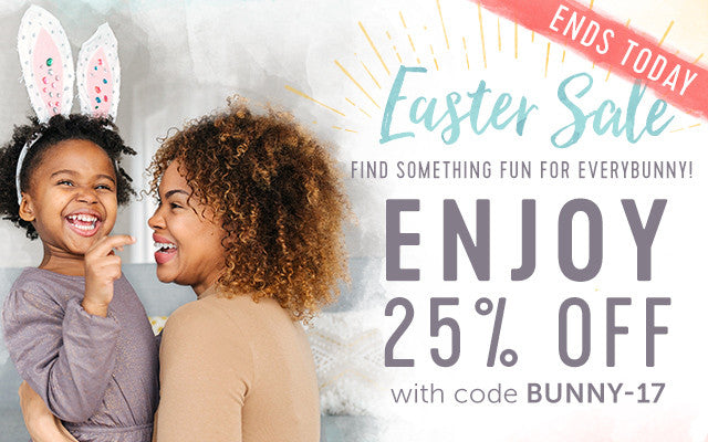 25% Easter Sale