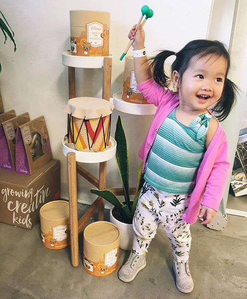Coco Cho (Oh Joy) with Seedling Design Your Own Disney Lion King Drum