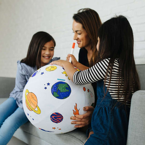 Color the Galaxy Inflatable Ball