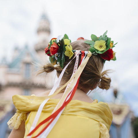 Disney's Beauty and the Beast | Design Your Own Enchanted Rose Crown