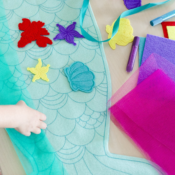 Disney's The Little Mermaid | DIY Fintastical Mermaid Tail