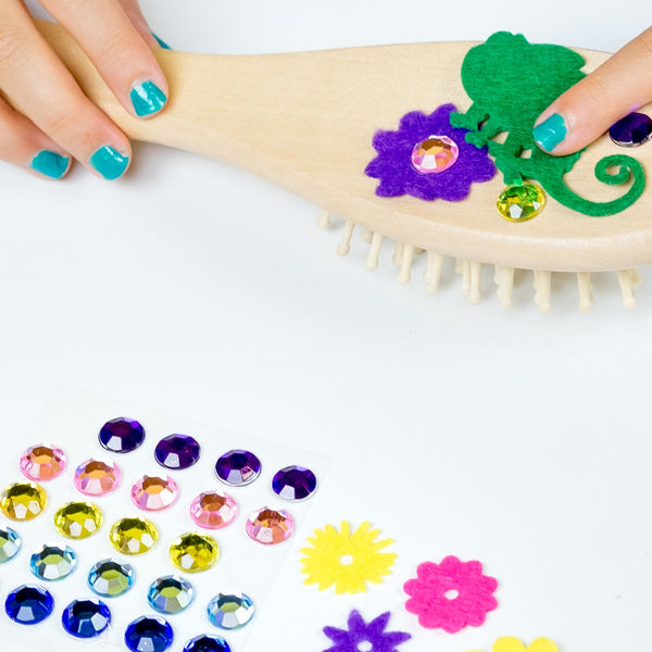 Design Your Own Magical Hairbrush In Progress