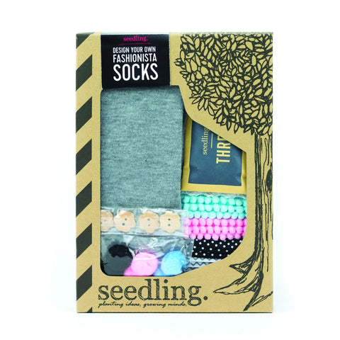 Design Your Own Fashionista Socks