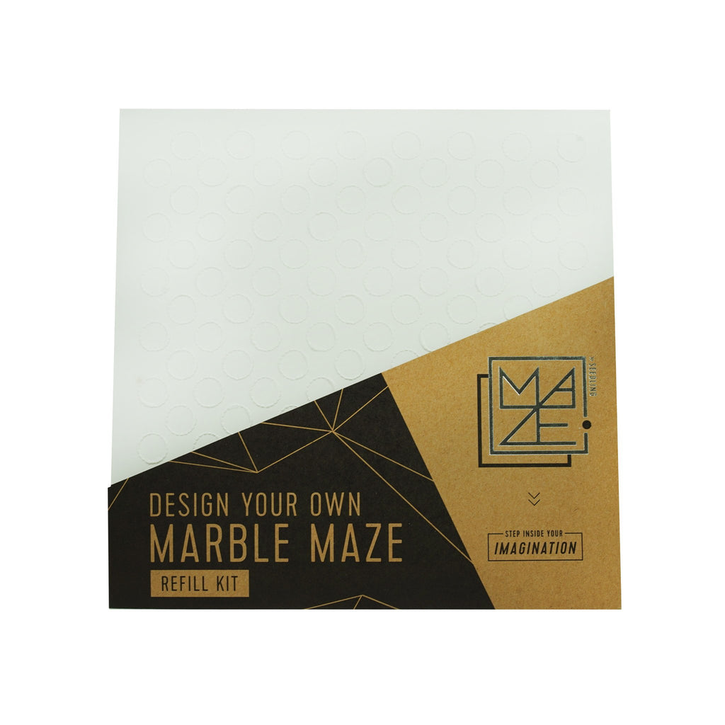 Design Your Own Marble Maze: Grid Refill Pack
