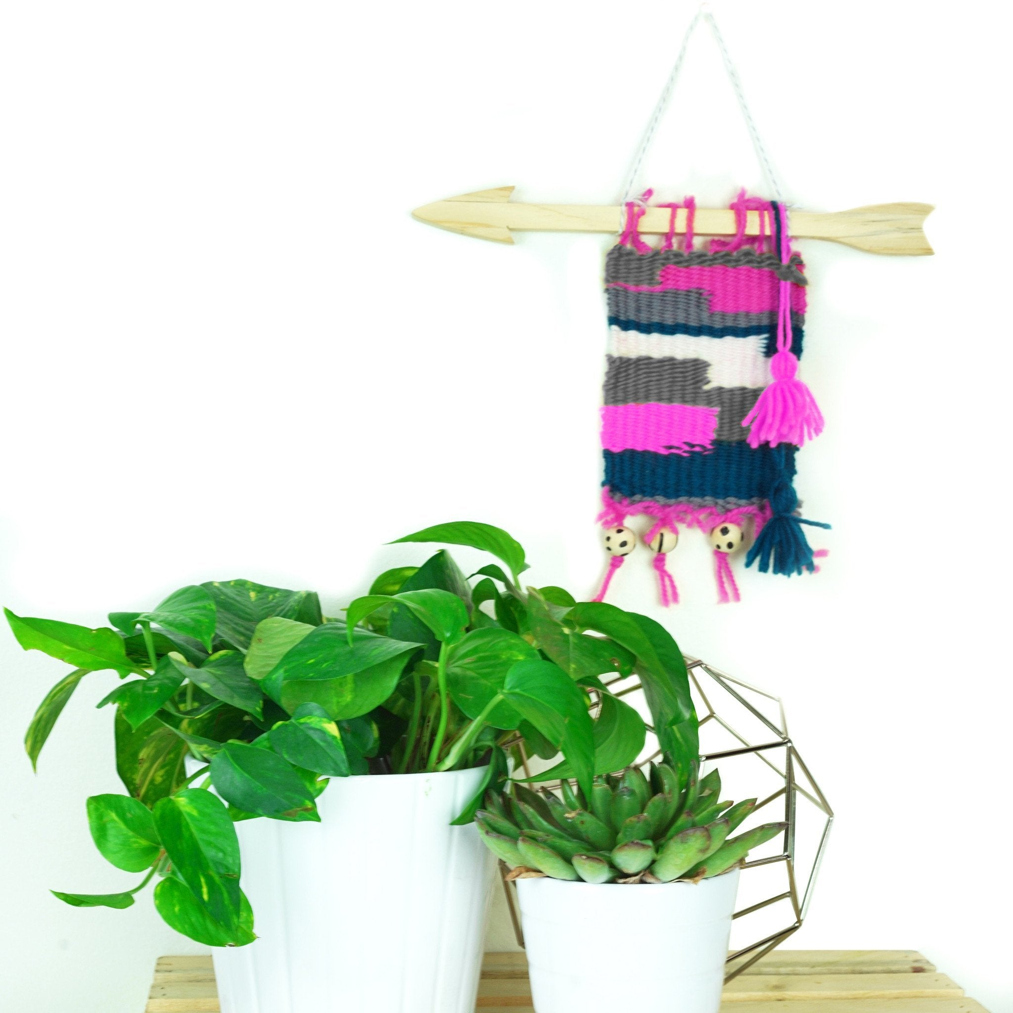Make Your Own Wall Weaving