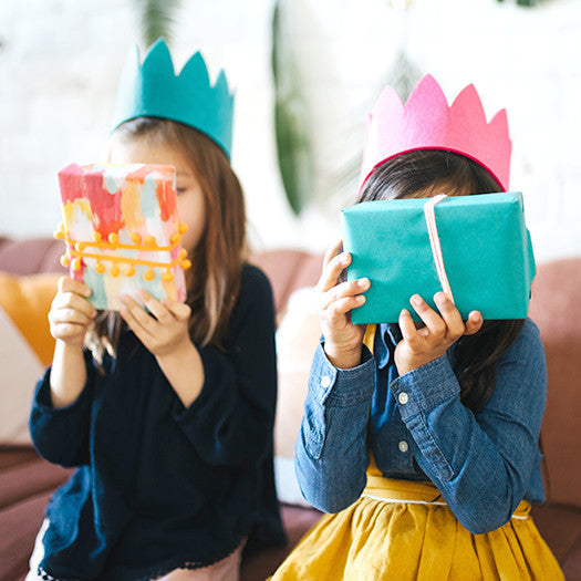 Reversible Felt Party Crown