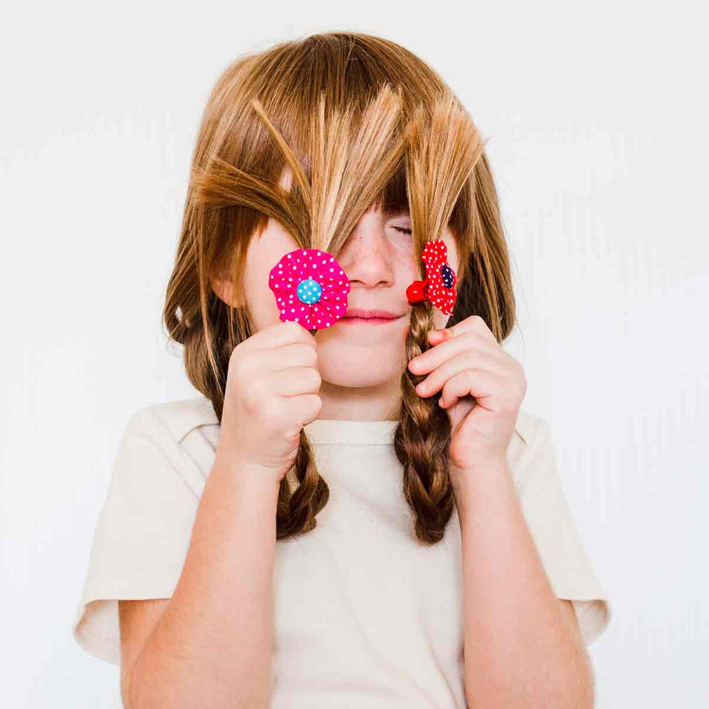 Rosey Posey Hair Ties
