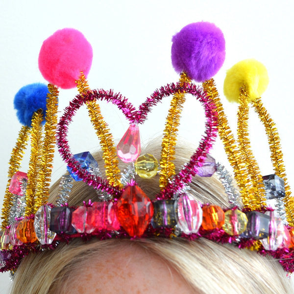 Create and Design A Dazzling Tiara