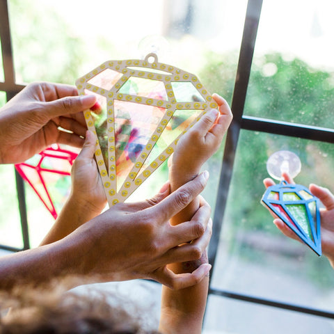 Make Your Own Diamond Suncatcher