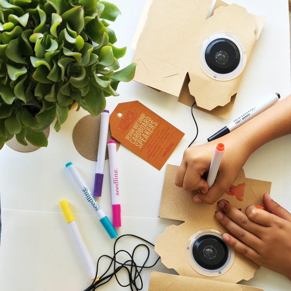 Design Out Loud! Cardboard Speakers