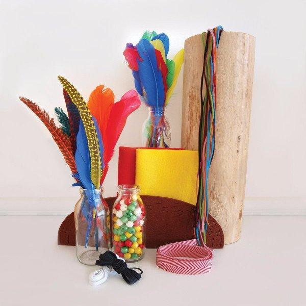 Kit Collection - Create Your Own Feather Crown