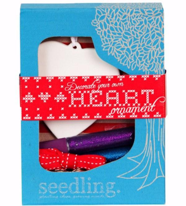 Kit Collection - Decorate Your Own Heart Ornament