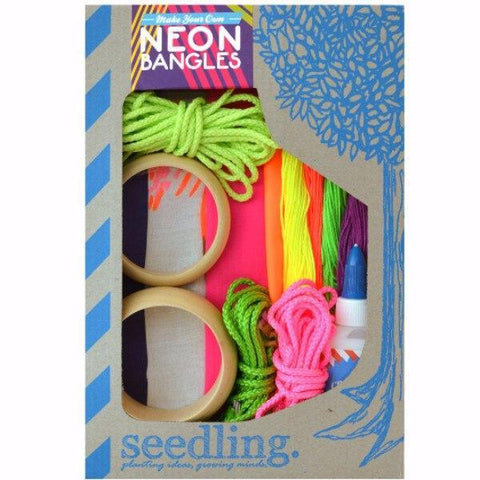Make Your Own Neon Bangles