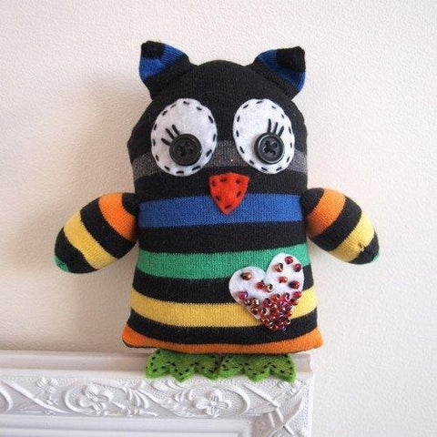 Make Your Own Sock Owl