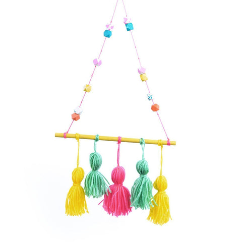 Make Your Own Tassel Wall Hanging