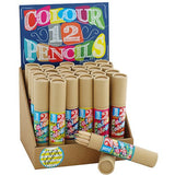 Pocket Money Collection - 12 Coloured Pencils