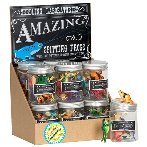 Pocket Money Collection - Amazing Spitting Frogs