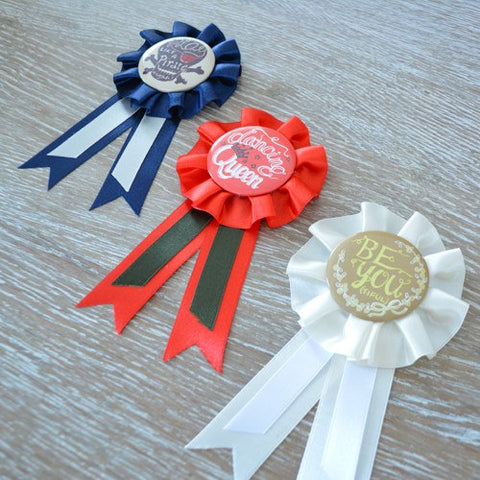 Awesome Ribbon Badges