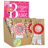 Pocket Money Collection - Birthday Ribbon Badge - Girl