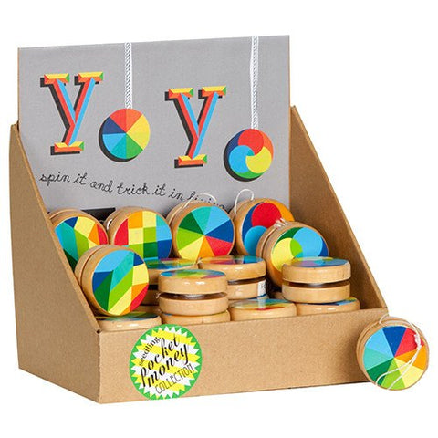 Colour Wheel Yo-yos