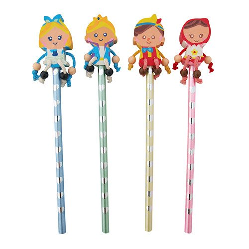 Pocket Money Collection - Everyone Loves A Fairytale Pencil & Eraser