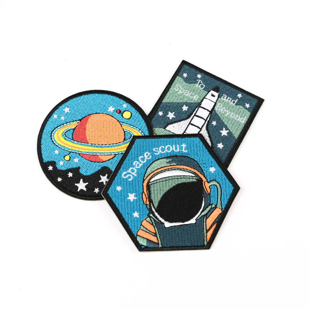 Pocket Money Collection - Extra Official Space Badges