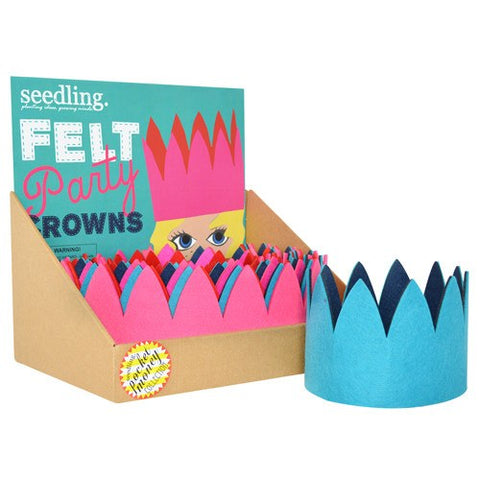 Felt Party Crowns