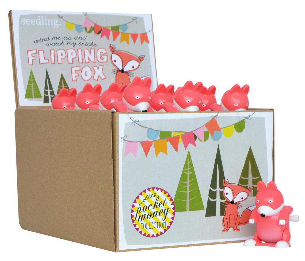 Pocket Money Collection - Flipping Fox Wind Up