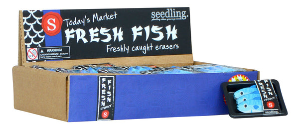 Pocket Money Collection - Fresh Fish Erasers