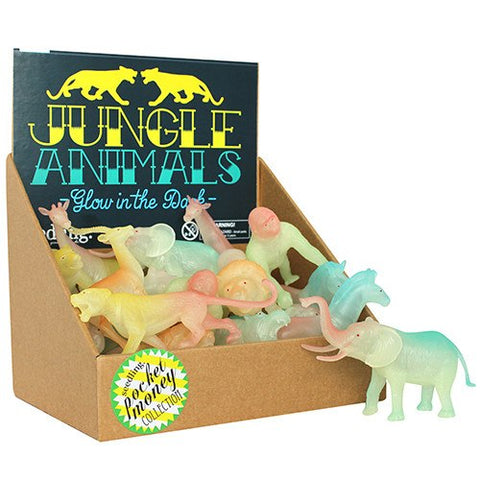 Glow-in-the-Dark Jungle Animals