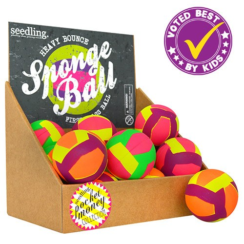 Pocket Money Collection - Heavy Bounce Sponge Ball