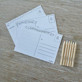 Pocket Money Collection - I'll Write You! - Postcard Set