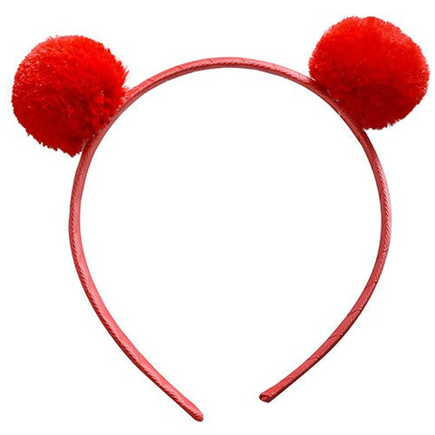 I Love to Wear Ears Club - Pom Pom Headband